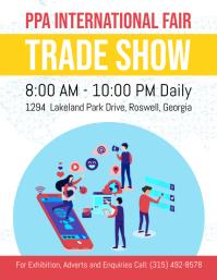 International Trade Show Flyer