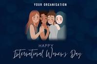 International women's day Iphosta template