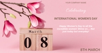 INTERNATIONAL WOMEN'S DAY Facebook 共享图片 template