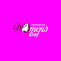 International Women's day Logotipo template