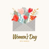 International women's day Instagram Post template