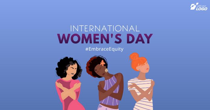 International Women's Day Facebook 共享图片 template