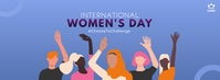 International Women's Day Portada de Facebook template