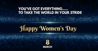 international women's Day Wishes Facebook Ad template