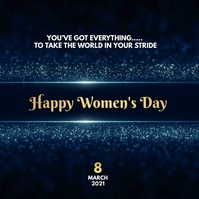 international women's Day Wishes template