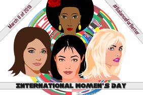 International Women's Day/ Women's Career/ Women's Ministry Poster template