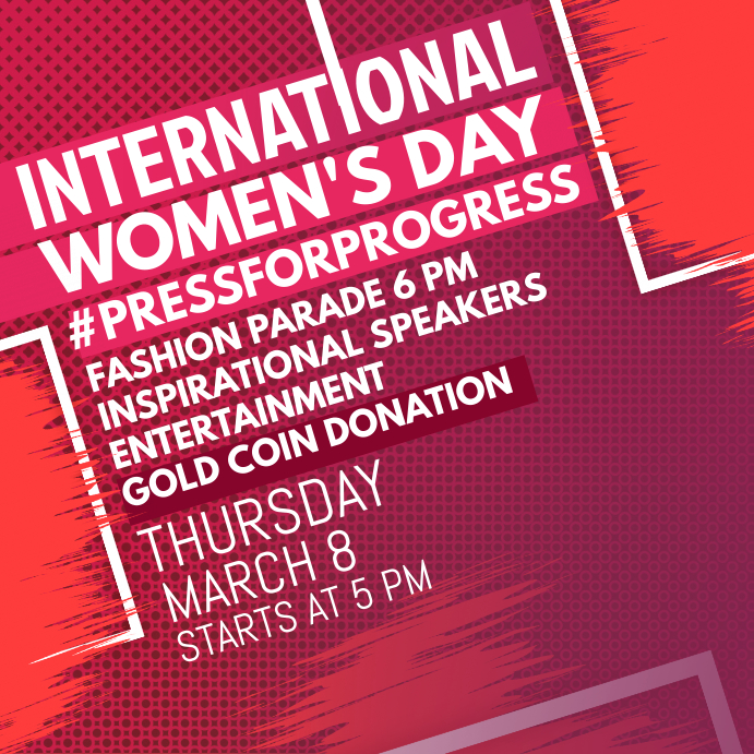 International Women's Day Conference Instagram Template