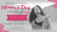 International women's day Conference Video Template