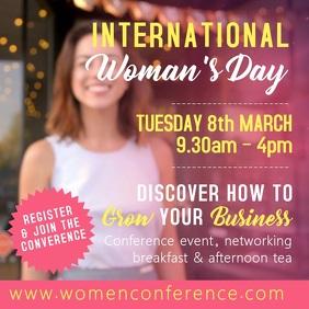 International Women's Day Video Template