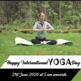 International Yoga Day Template Design