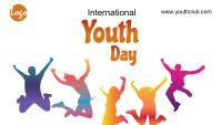 International youth day Blog header template