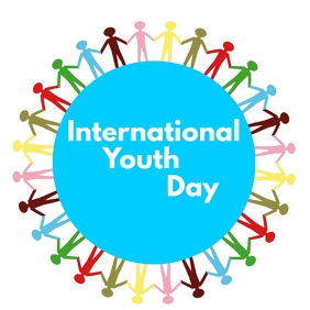 INTERNATIONAL YOUTH DAY Instagram Post template