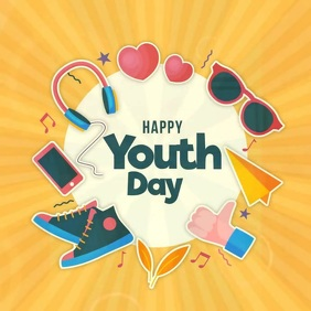 International Youth Day Template Instagram Post