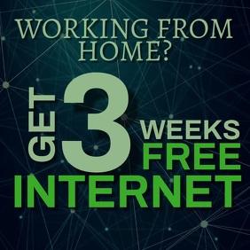 Internet Company ad Template Kwadrat (1:1)