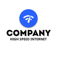 Internet company logo Логотип template