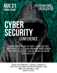 Internet Cyber Security Conference Flyer