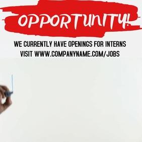 Internship Video Promo Template