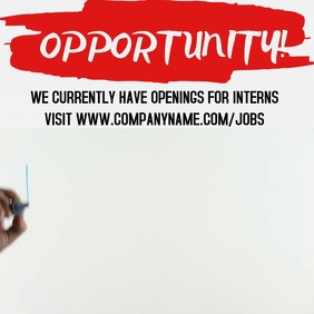Internship Video Promo Template
