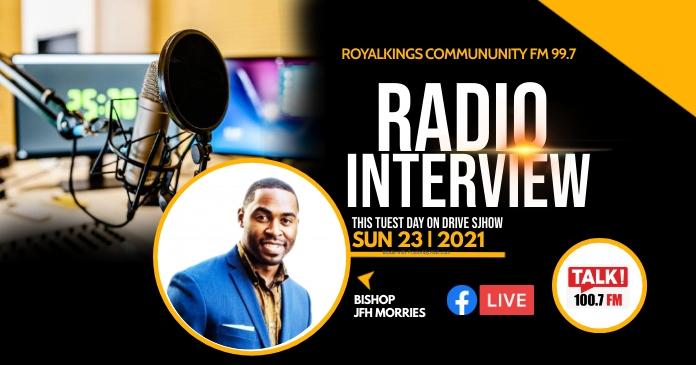 Interview flyer Gambar Bersama Facebook template