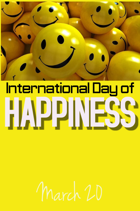 Intl Day of Happiness