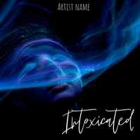Intoxicated album cover template