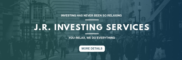 investing and finance email header E-mail-overskrift template