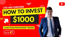 investing and forex trading youtube thumbnail YouTube-miniature template