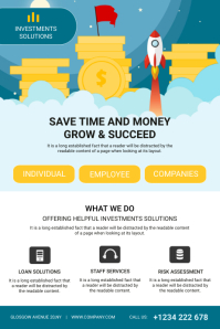 Investment Agency Flyer