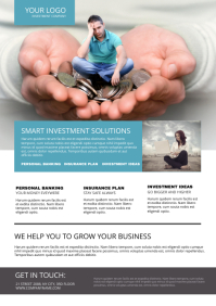 Investment Flyer Template