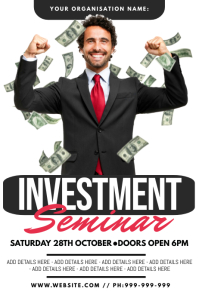 Investment Seminar Poster