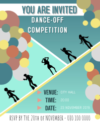 INVITATION - DANCE Flyer (US Letter) template