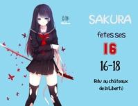 Invitation manga Flyer (format US Letter) template