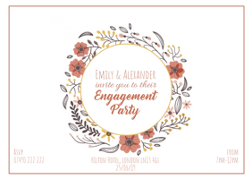 Invitation Template Postal
