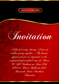 Invitation template Template