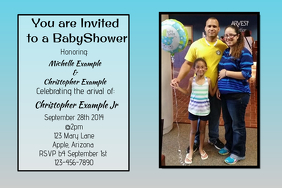 Invitation Wedding baby shower