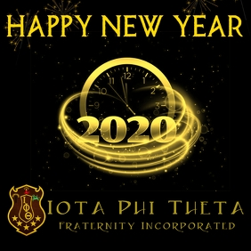 Iota Fraternity New Year
