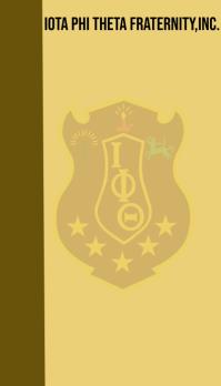 Iota Phi Theta Fraternity,Inc. Business Card template