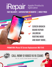 Iphone Repair Specialist Flyer