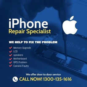 Iphone Repair Specialist Instagram template