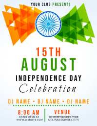 IRELAND INDEPENDENCE DAY EVENT Flyer Template ใบปลิว (US Letter)