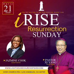 iRise Resurrection Sunday