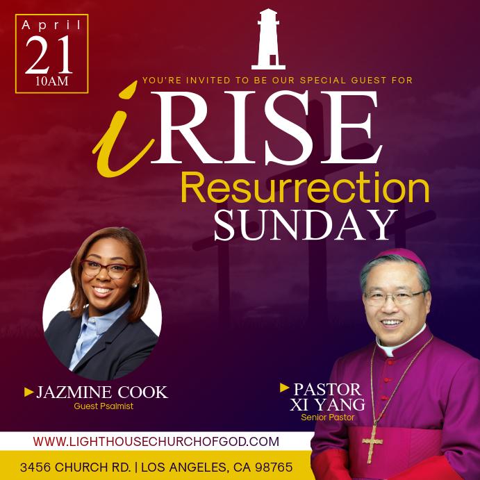 iRise Resurrection Sunday