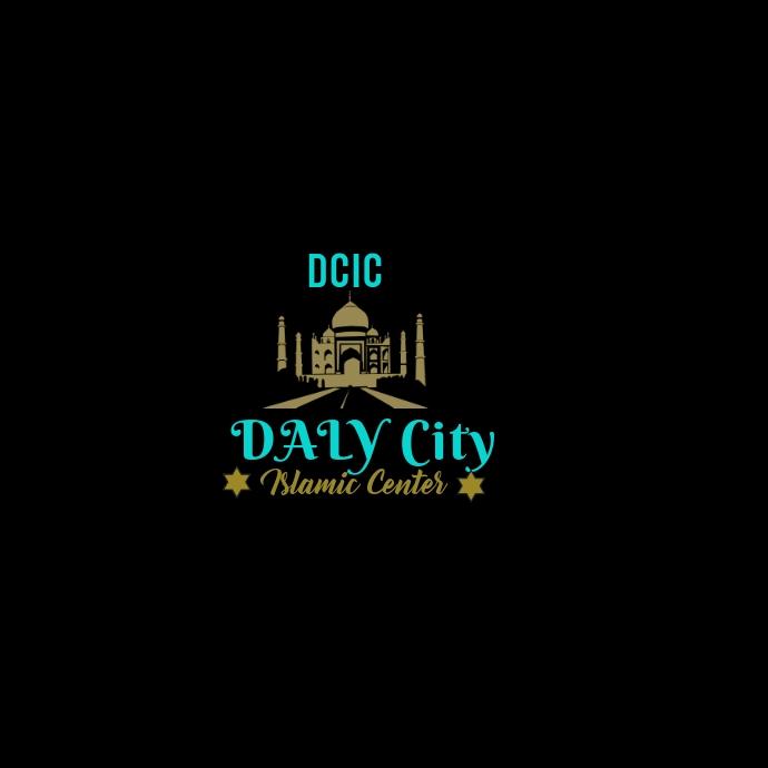 Islamic Center logo template