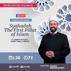 Islamic lecture Facebook Live