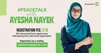 Islamic speaker event ad Facebook 广告 template