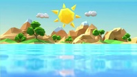 Island A piece of land surrounded by water. YouTube 缩略图 template