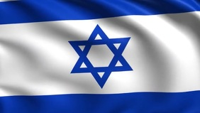 Israel Flag Video Poster Template