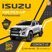 Isuzu Instagram Post template