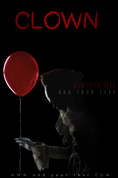 IT Pennywise Clown Movie Horror Party Theme Halloween Scary