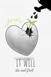 It Will Grow Poster template